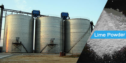 Lime Powder Steel Silo
