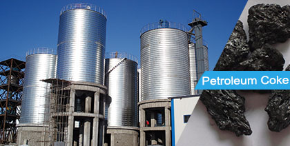 Petroleum Coke Storage Silo